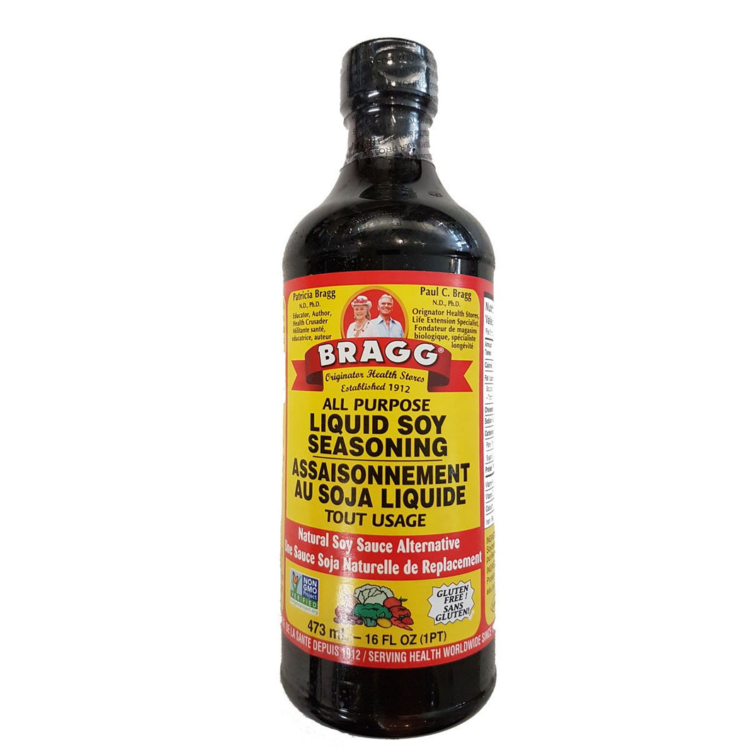 Bragg All Purpose Liquid Soy Seasoning (473ml)
