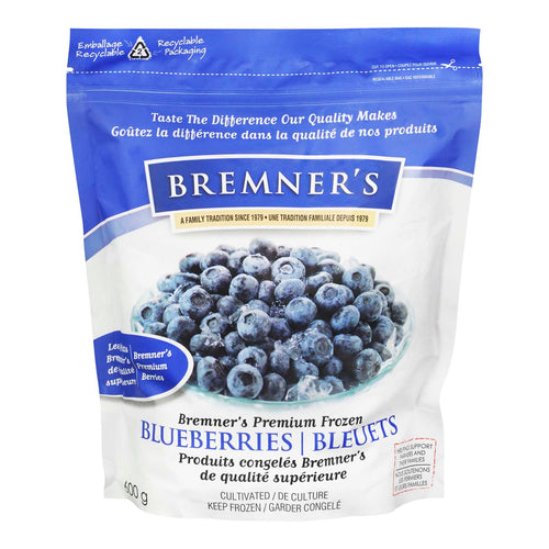 Bremner's Frozen Blueberries (600g)