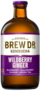 Brew Dr. Wildberry Ginger Kombucha (414ml)