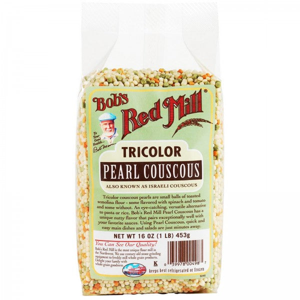 Bob's Red Mill Tricolour Pearl Couscous 453g