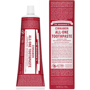 Dr. Bronner's Cinnamon Toothpaste 140g