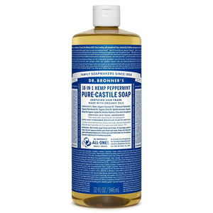 Dr. Bronner's Liquid Peppermint Soap 944ml