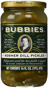 Bubbie's Dill Pickles 1L