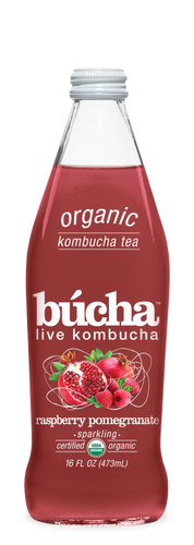 Bucha Raspberry Pomegranate Kombucha 473ml