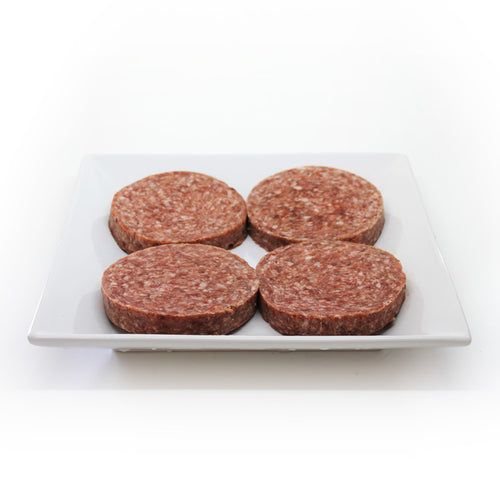 Beef & Bacon Burgers (4/pack)