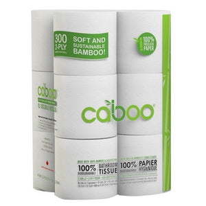 Caboo Toilet Paper (12 rolls)