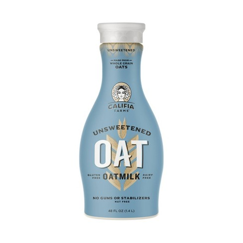 Califia Farms Unsweetened Oat Beverage (1.4L)