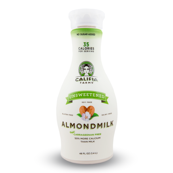 Califia Farms Unsweetened Almond Milk 1.4L