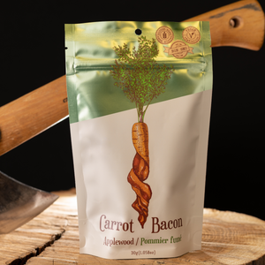 Carrot Bacon Applewood Plant-Based Jerky (30g)