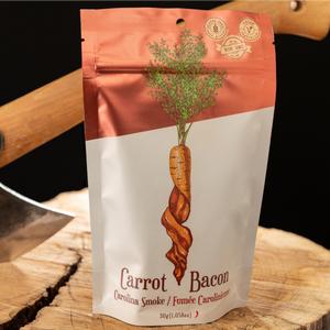 Carrot Bacon Carolina Smoke Plant-Based Jerky (30g)