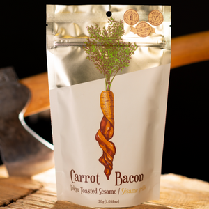 Carrot Bacon Tokyo Toasted Sesame Plant-Based Jerky (30g)