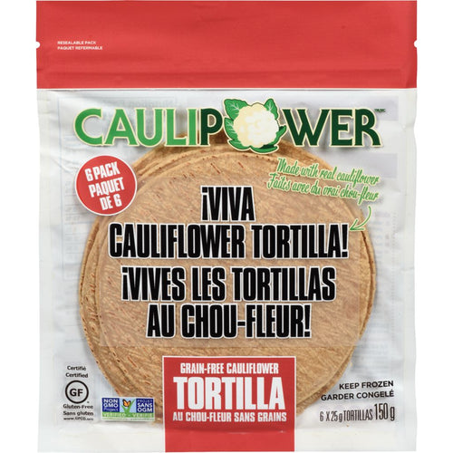 Caulipower Grain-Free Cauliflower Tortillas (6 Pack)