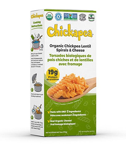 Chickapea Spirals & Cheese (170g)