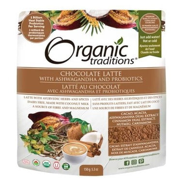 Organic Traditions Chocolate Latte (150g)