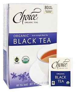 Choice Organic Black Tea (80 Bags)