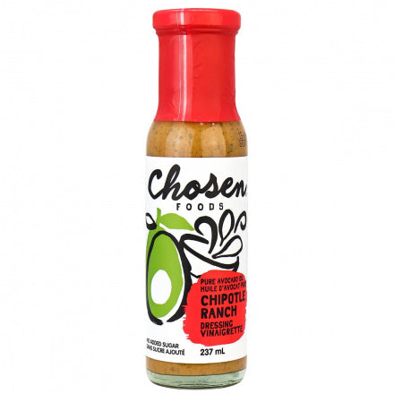Chosen Foods Chipotle Ranch Avocado Oil Dressing (237ml)
