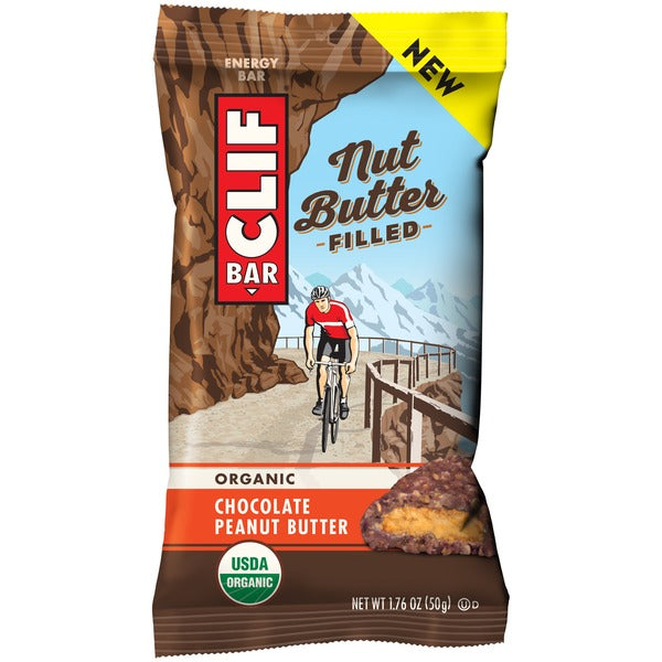 Clif Bar Chocolate Peanut Butter Filled 50g