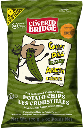 Covered Bridge Creamy Dill Pickle Chips