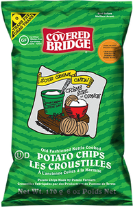 Covered Bridge Sour Cream & Onion Chips