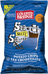 Covered Bridge Sea Salt Chips