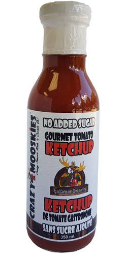 Crazy Mooskies Gourmet Tomato Ketchup (350ml)
