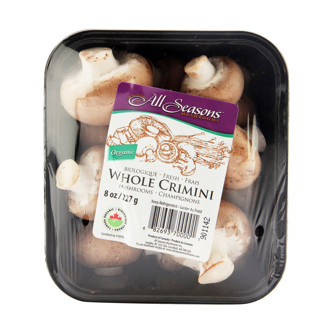 Crimini Brown Mushrooms (227g)