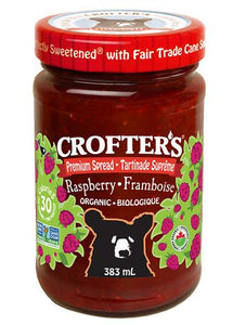 Crofter's Organic Raspberry Spread 383ml