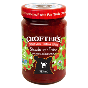 Crofter's Organic Strawberry Spread 383ml