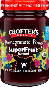 Crofter's Organic Pomegranate Power Spread 383ml