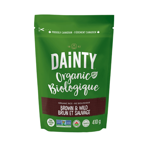 Dainty Organic Brown & Wild Rice (410g)