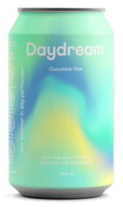 Daydream Cucumber Lime Sparkling Water (355ml)