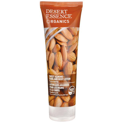 Desert Essence Sweet Almond Hand & Body Lotion 237ml