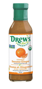 Drew's Organics Orange Sesame Ginger Dressing (360ml)