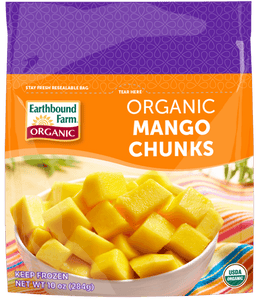 Earthbound Farm Frozen Organic Mangoes 300g