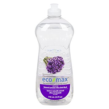 EcoMax Natural Lavender Ultra Dish Washing Soap (740ml)