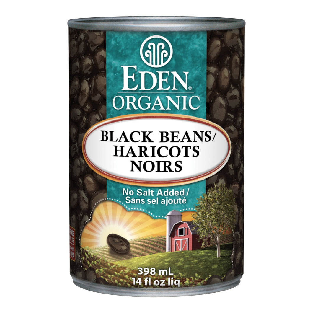Eden Organic Black Beans (398ml)