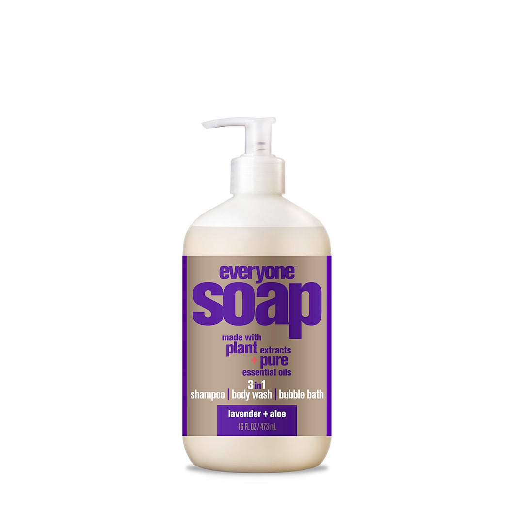 Everyone 3 in 1 Body Soap Lavender and Aloe (32oz.)