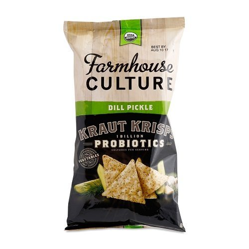 Farmhouse Culture Kraut Krisps Dill Pickle (142g)
