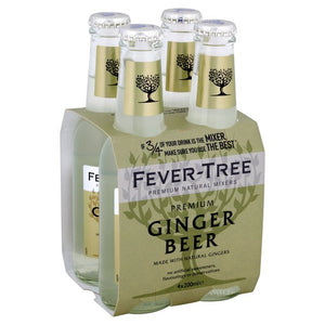 Fever Tree Ginger Beer (4x200ml)
