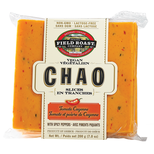 Field Roast Chao Slices Tomato Cayenne (200g)