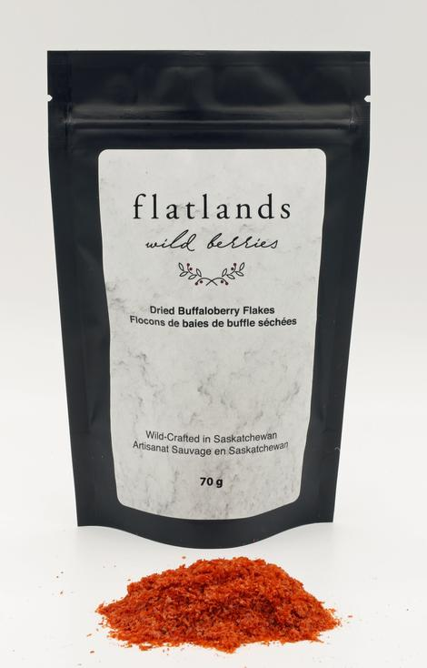 Flatlands Wild Berries Dried Buffaloberry Flakes (70g)