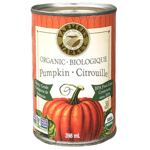 Farmer's Market Pumpkin Puree 398ml