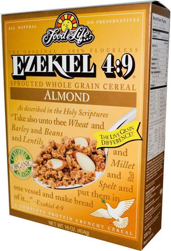 Food for Life Almond Ezekiel 4:9 Sprouted Cereal (454g)