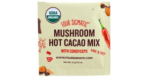 Four Sigmatic Mushroom Hot Cacao w/ Cordyceps (6g)