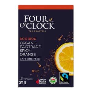 Four O'Clock Rooibos Spicy Orange Tea (16 Tea Bags)