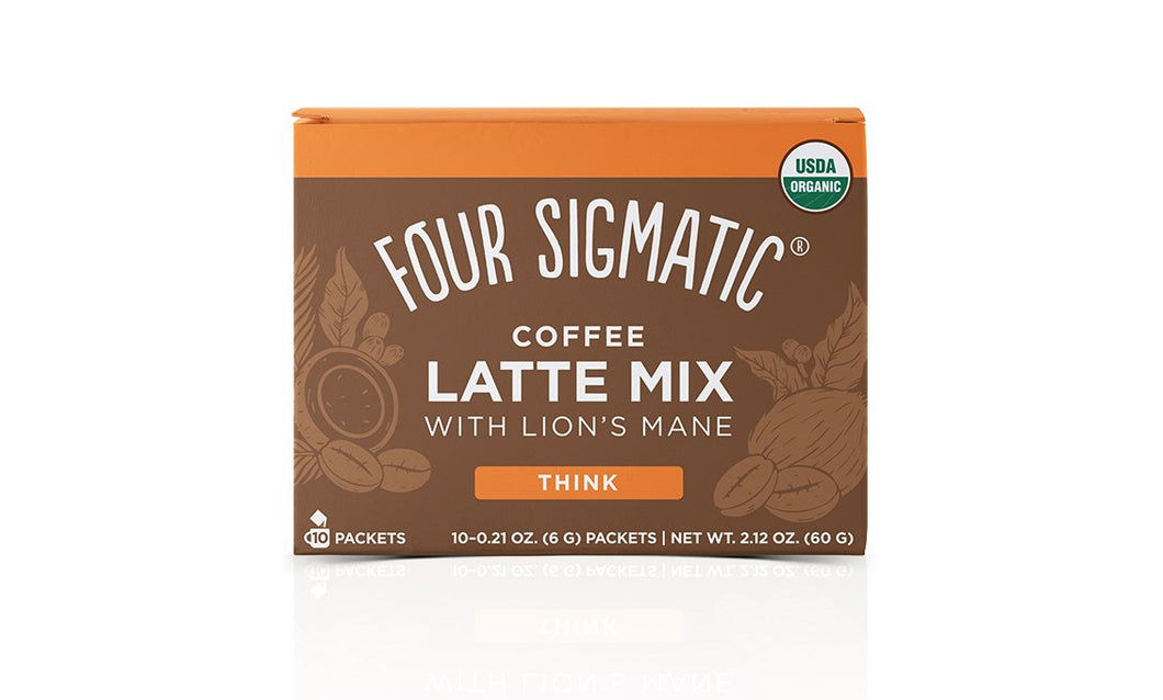 Four Sigmatic Coffee Latte Mix w/ Lion's Mane (6g)