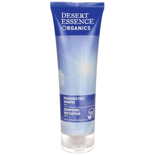 Desert Essence Fragrance Free Shampoo 237ml