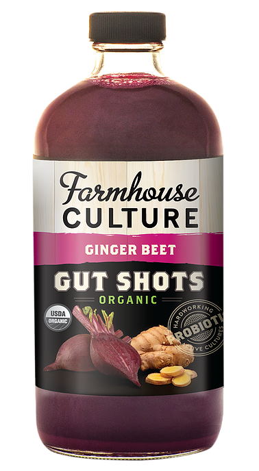 Farmhouse Culture Ginger Beet Gut Shot 473ml