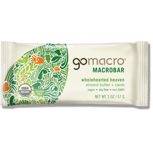 GoMacro Bar Almond Butter & Carob 65g