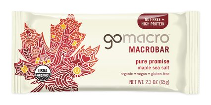 GoMacro Bar Maple Sea Salt (65g)